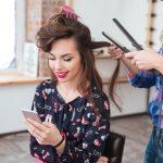 wifi social en una peluquería